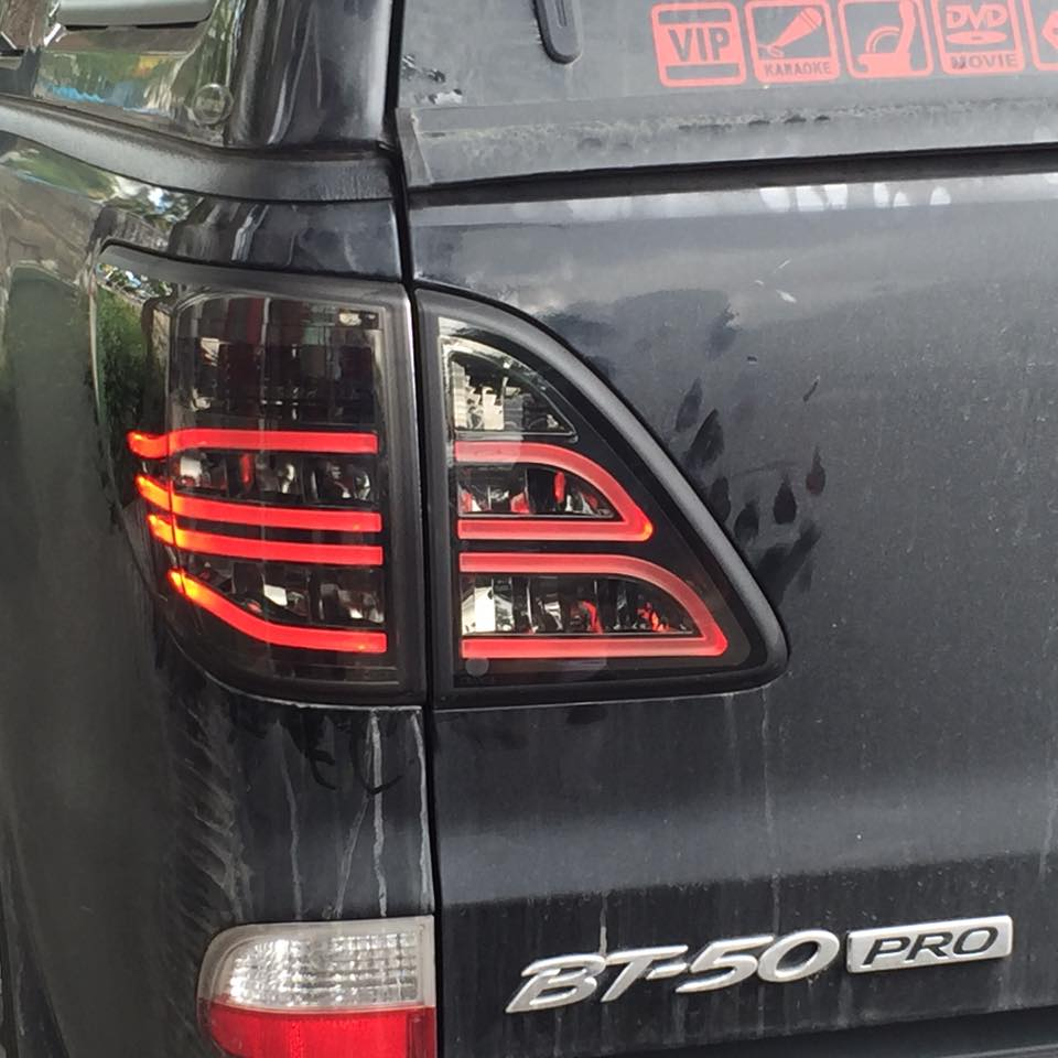 Smoke Led Tail Lamp Light Rear Taillight Mazda Bt50 Bt-50 Pro Ute ...