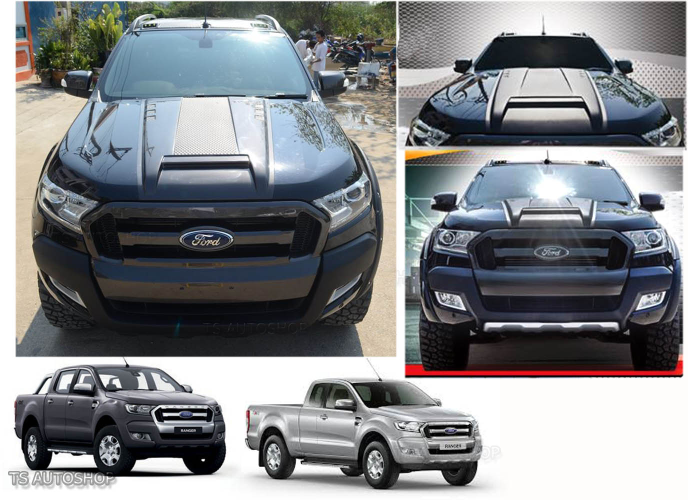 Image Is Loading Fit Ford Ranger Mk2 Px2 2015 2016 17