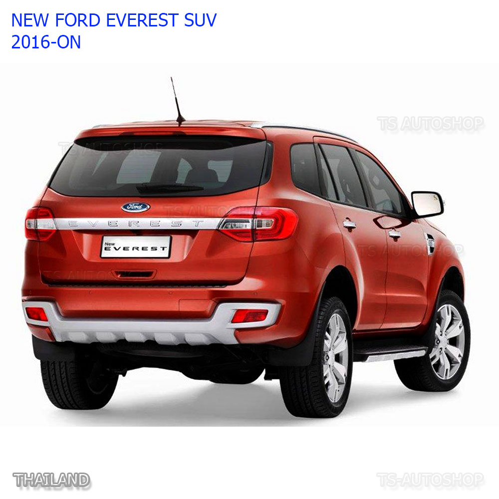 Matte black handle 4 door hand cover for ford everest suv 2 2 3 2