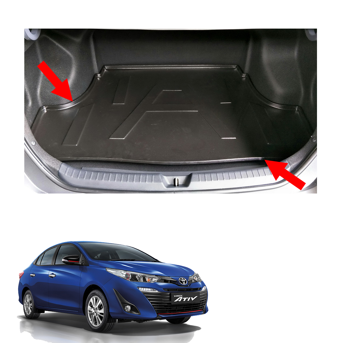 Pro Trim Panel Remover Tool Kit for Toyota Yaris//Vitz Interior Exterior Dash