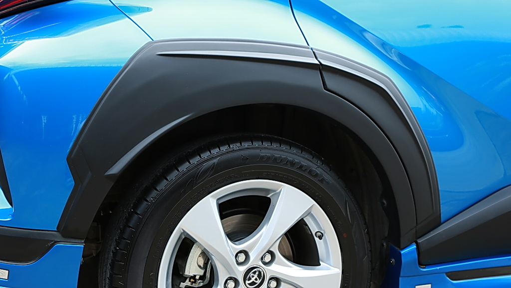 Trd Matte Black Fender Flares Wheel Arch Garnish For Toyota C-hr Chr 2018 2019