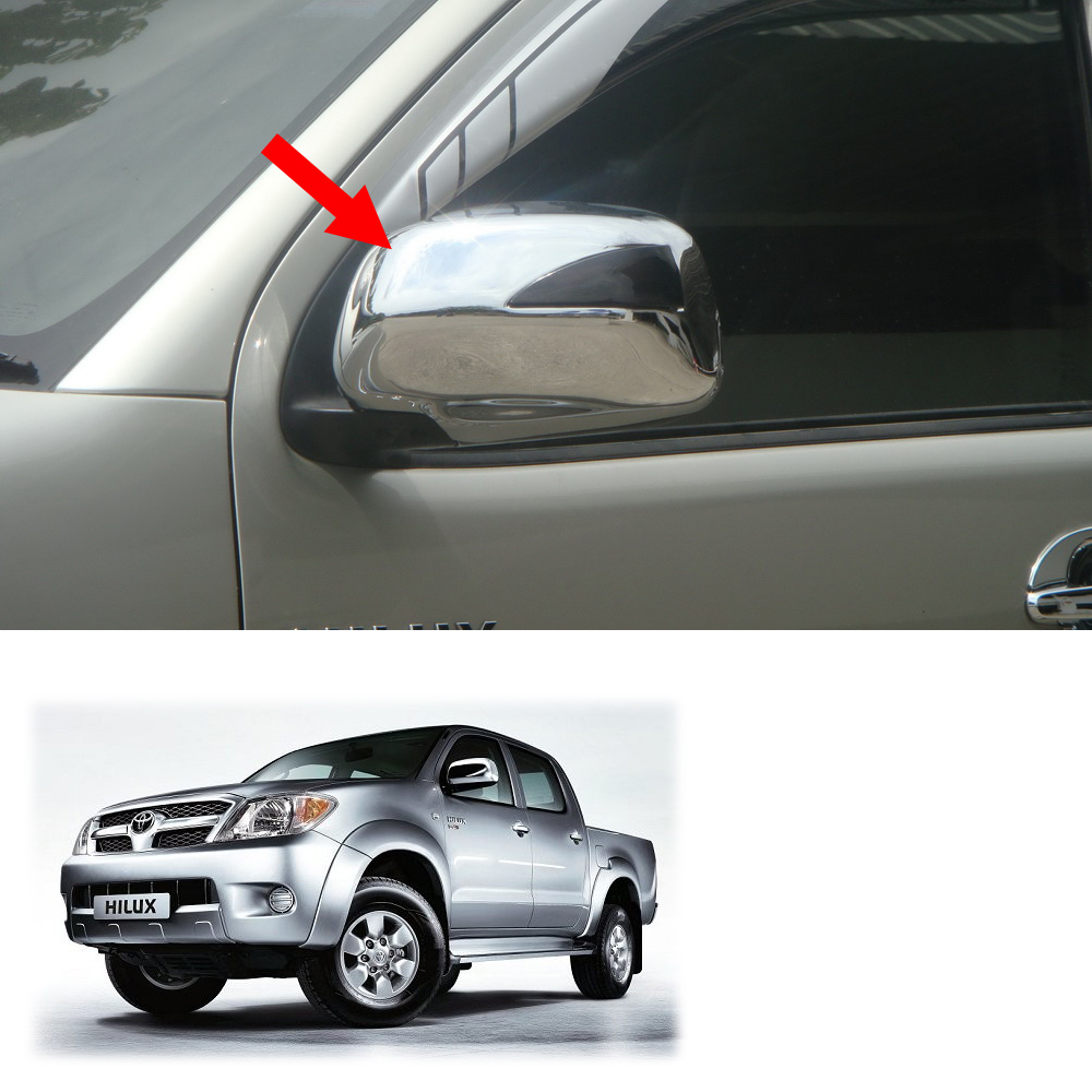 VIGO SR5 MK6 PICKUP 2005 2006-2014 Chrome Door Handle Cover for TOYOTA HILUX