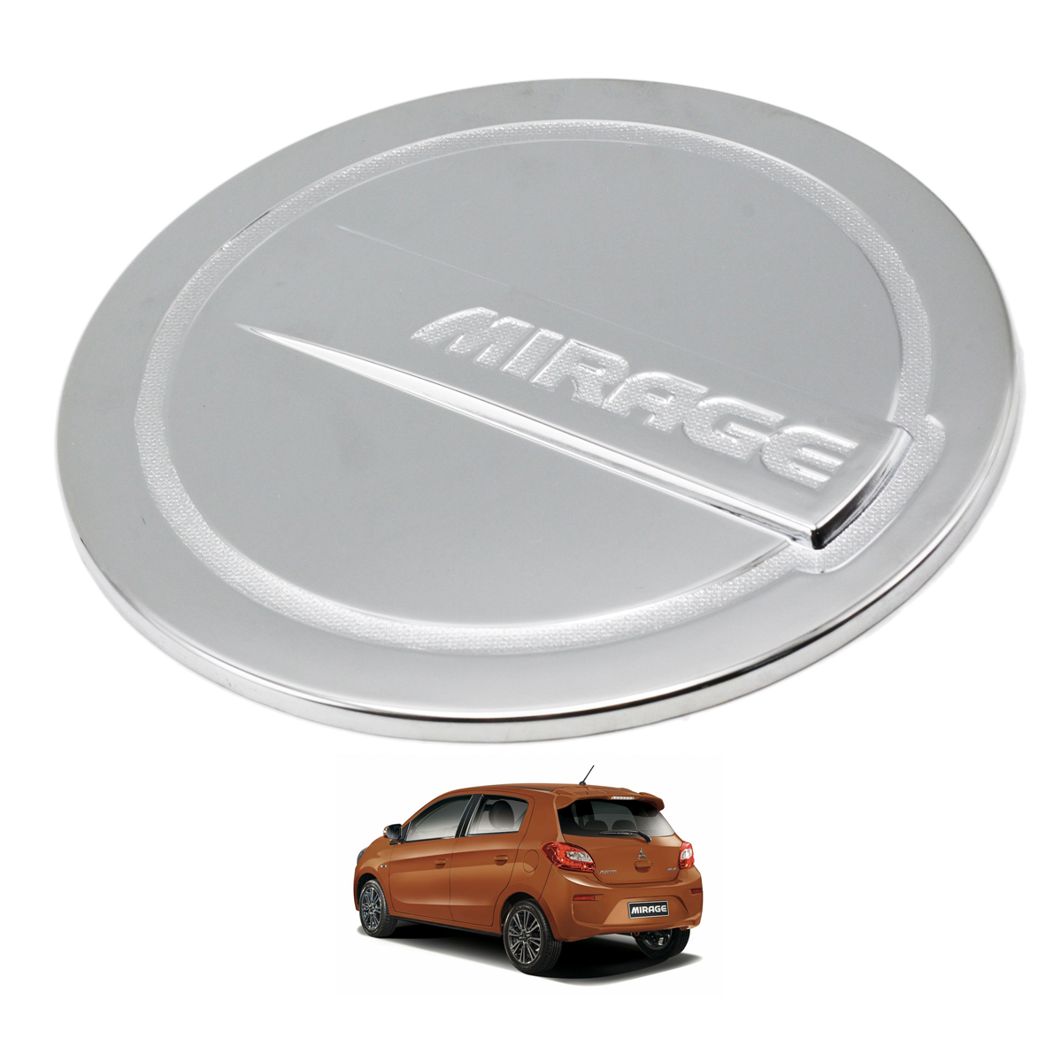 Fit Mitsubishi Mirage Space Star 2012-2016 Chrome 5Door Handle Bowl Insert Cover