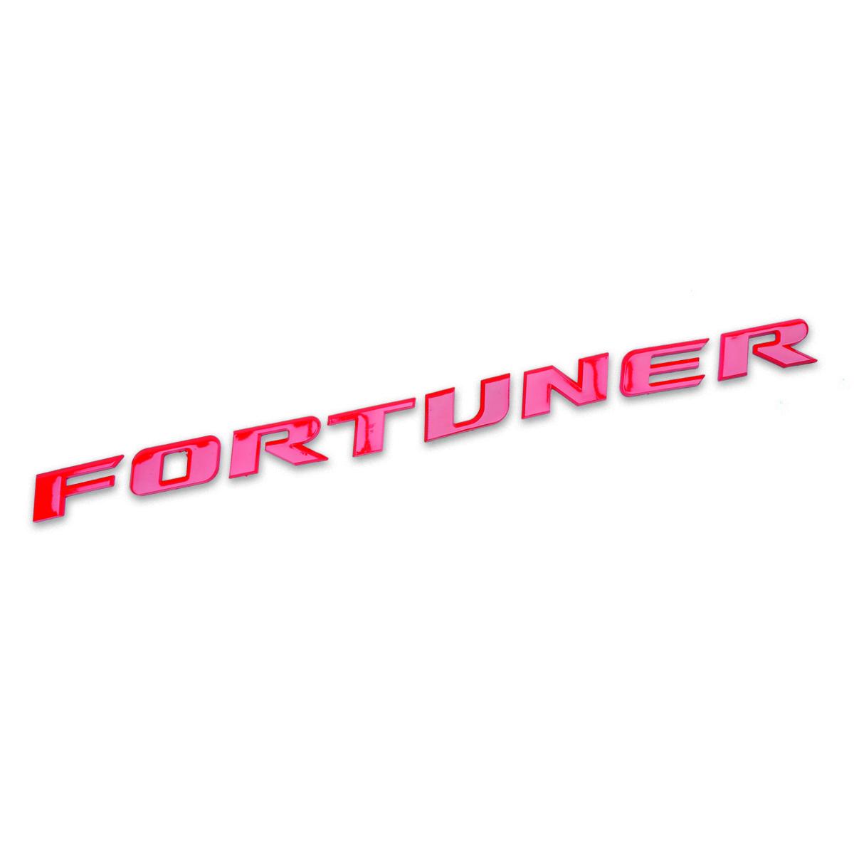"""Logo Badge Emblem /""""FORTUNER/"""" Chrome For Toyota Suv Fortuner 4 Door 2016-2018"""
