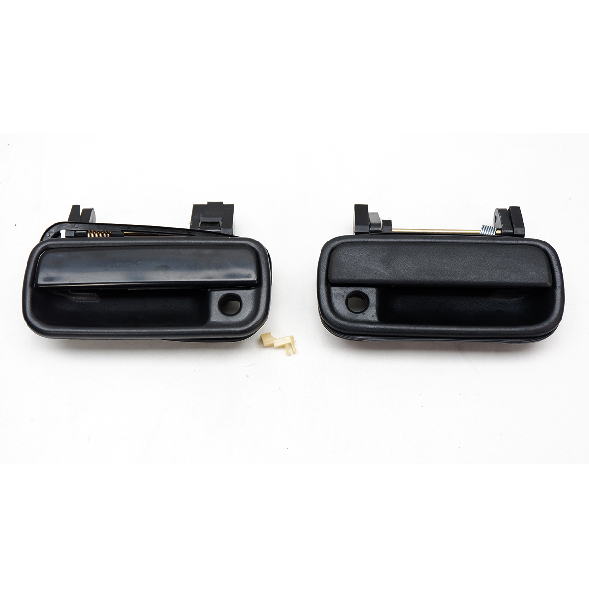 Rear L+R Outer Door Handle Black For Toyota Hilux Tiger Sport Rider 1997 2005