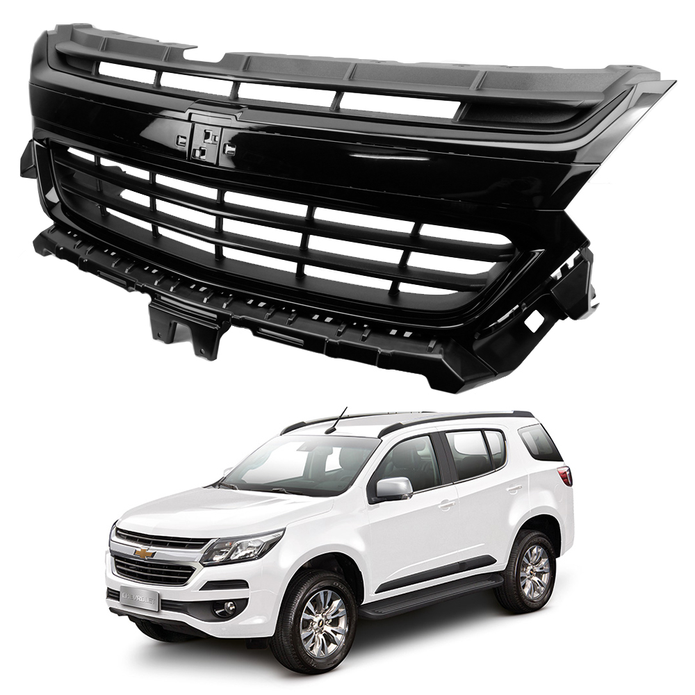 Front Grille Grill Genuine Black For Chevrolet Colorado