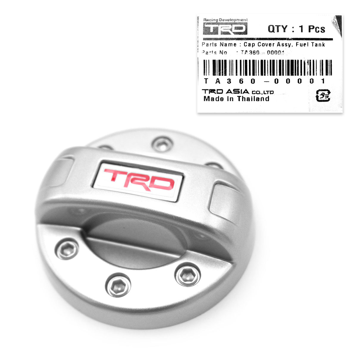 Details about Genuine TRD Fuel Tank Cap Cover Fits Toyota Revo Rocco Fortuner Innova 2015 2019