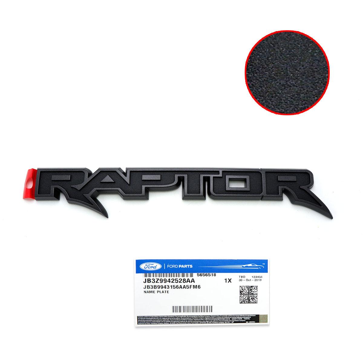 genuine raptor rear logo emblem raptor 3d black for ford ranger 2019 2020 ebay details about genuine raptor rear logo emblem raptor 3d black for ford ranger 2019 2020