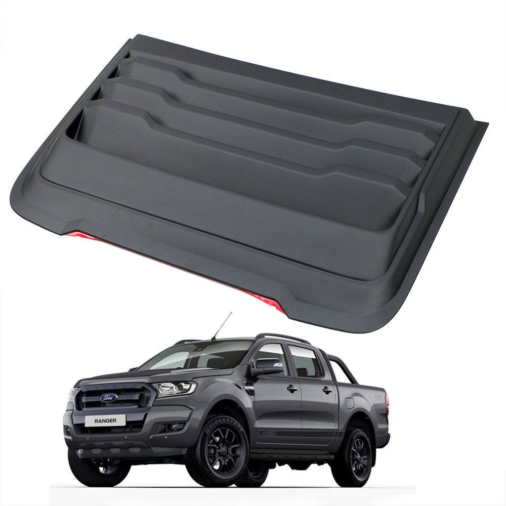 Details About F 150 Scoop Hood Vent Cover Matt Black For Ford Ranger Raptor Everest 2015 2019