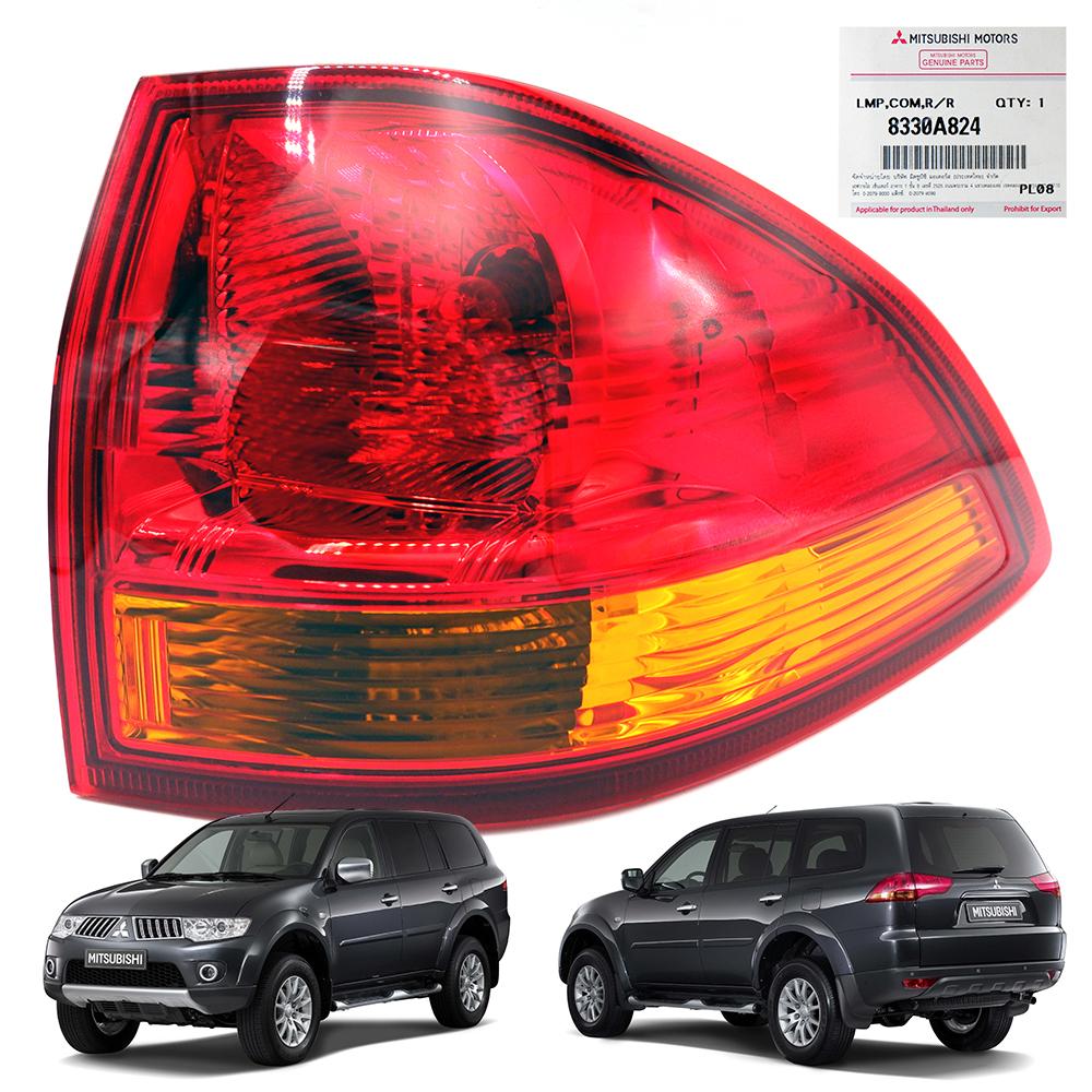 Mitsubishi Montero Pajero Sport Tailgate Spoiler Colour: Rh Tail Lamp Genuine Red,Orange For Mitsubishi Pajero