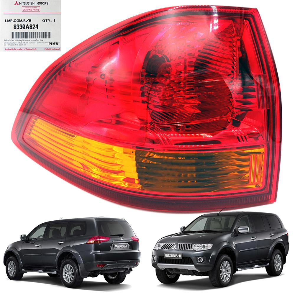 Mitsubishi Montero Pajero Sport Tailgate Spoiler Colour: Lh Tail Lamp Genuine Red,Orange For Mitsubishi Pajero