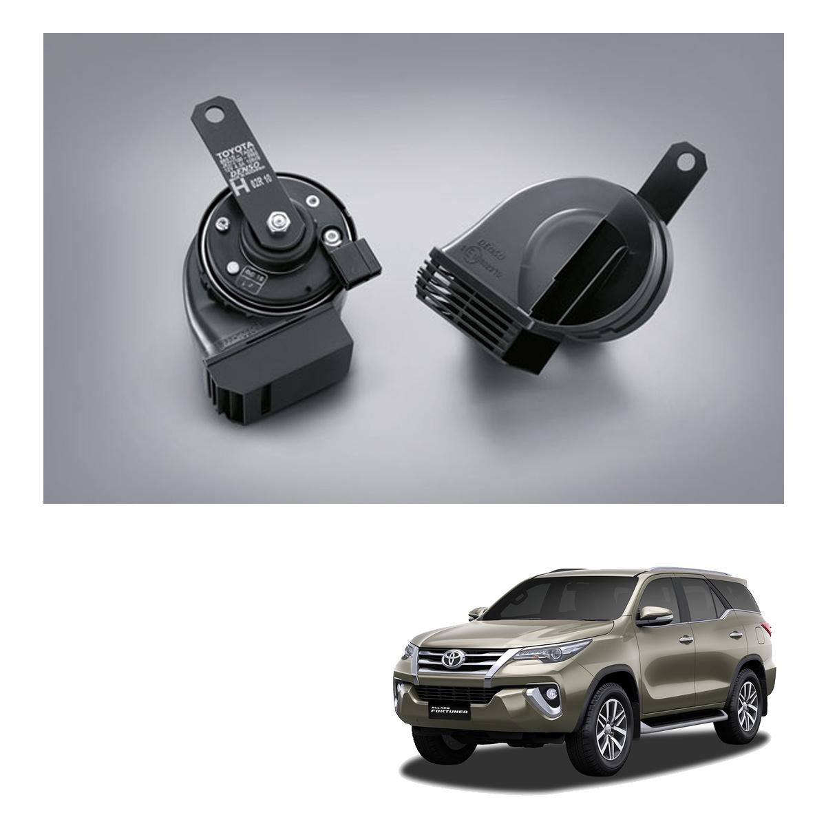 Toyota Highlander Horn Fortuner Fuse Box Location Premium Loud Genuine Black Fits 1200x1200